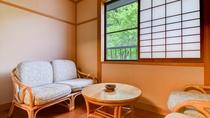 *おまかせ二間(桐)/二間のお部屋一例です。こちらは2階「桐」のお部屋です。