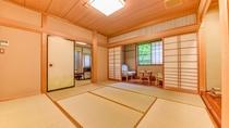 *おまかせ二間(桐)二間のお部屋一例です。こちらは2階「桐」のお部屋です。