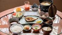 *朝食一例/群馬の朝ごはん49選にありがたくも選ばれました、中之条産中心の朝食をお召し上がり下さい