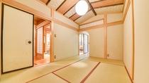 *露天風呂付客室(花水木)8畳+6畳+板の間付き