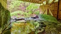 *1階宝泉の湯(木)2箇所ある貸切風呂の中の岩風呂です、どなた様も無料でご利用いただけます