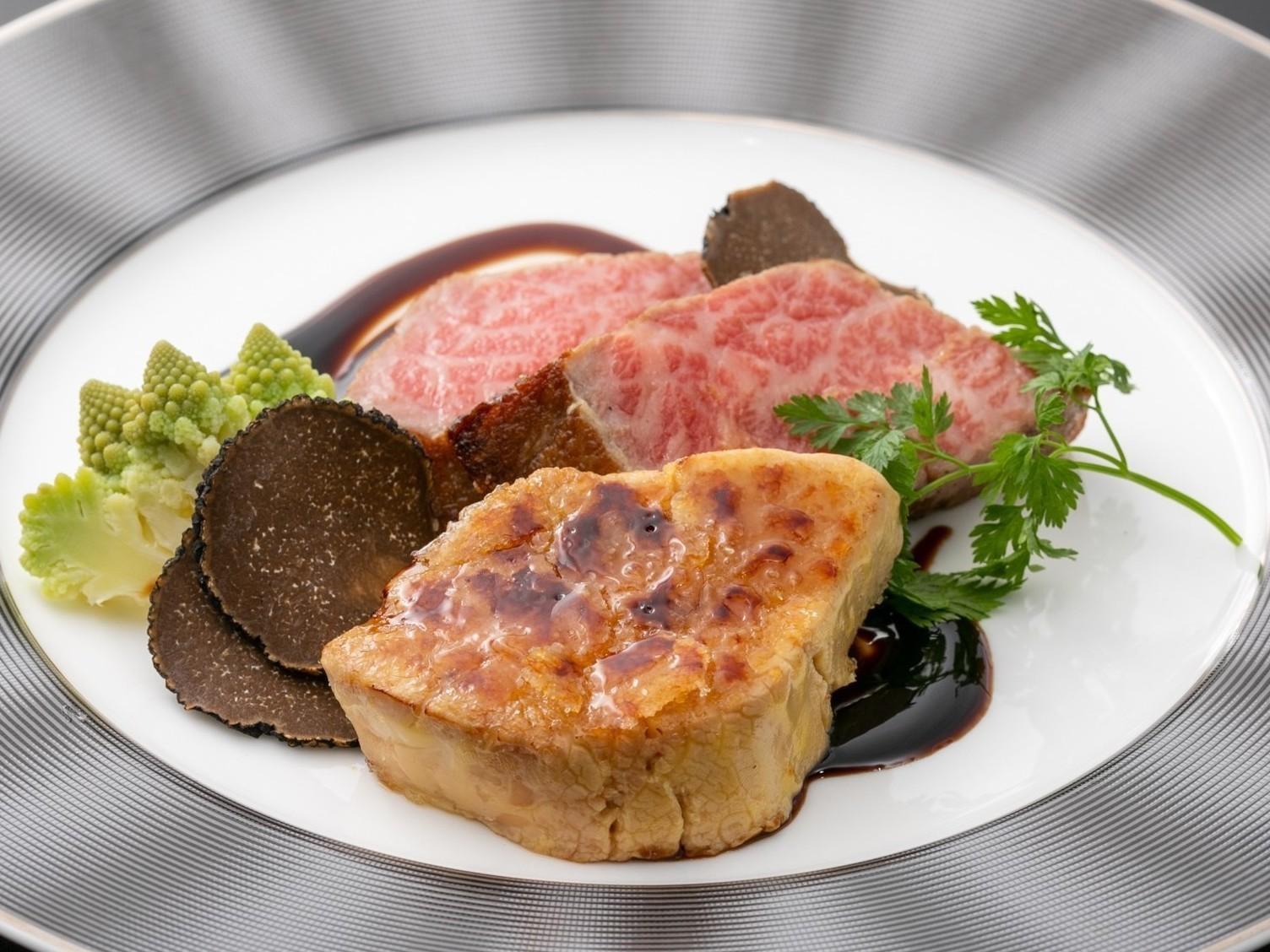 お料理グレードアップ A5和牛フィレステーキコース