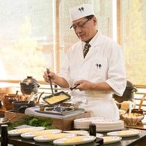 日本料理 弁慶 和朝食ブッフェ 出し巻き玉子