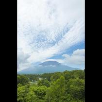 晴天時には富士山をお楽しみいただけます!