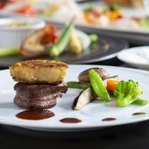 【美味彩りフレンチ】お肉メイン一例