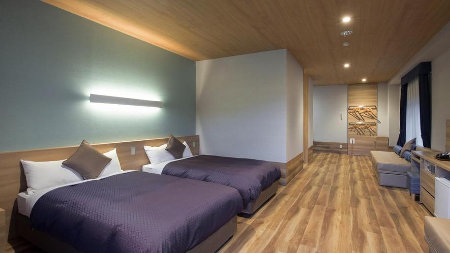角部屋なので光が入りやすい明るいお部屋です。