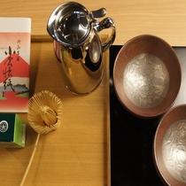 ■朝食-お茶■