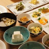 ■朝食メニュー こだわりの「京おばんざい」■