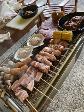 ワンちゃんと一緒♪【朝食・バーベキュー付き】【ファミリーセット】3名様 ドームハウス
