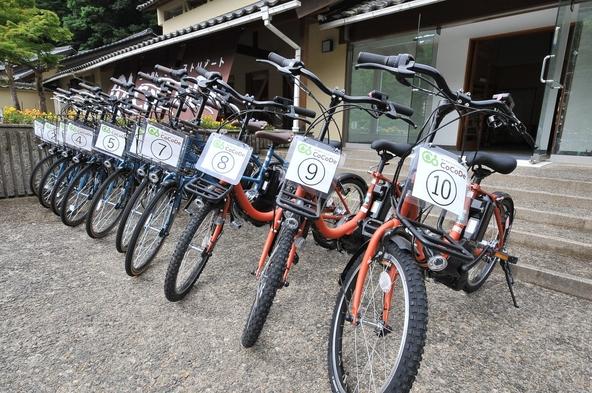 【紅葉シーズン到来】BBQ・朝食付きプラン♪特典:電動自転車1時間無料サービス ドームハウス