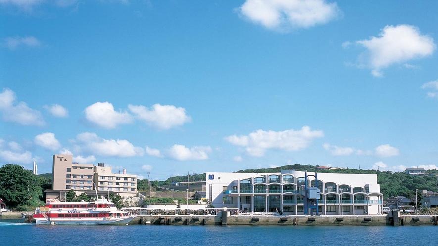 *【郷ノ浦港】当館まで車で約8分で到着いたします。