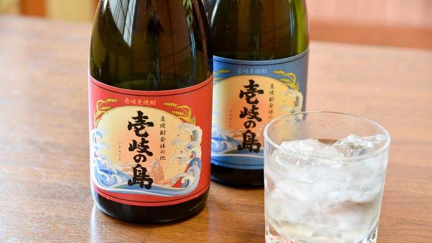 *【壱岐焼酎】スッキリとしたバランスの良い味のお酒。当宿の食事のおともにもピッタリです。