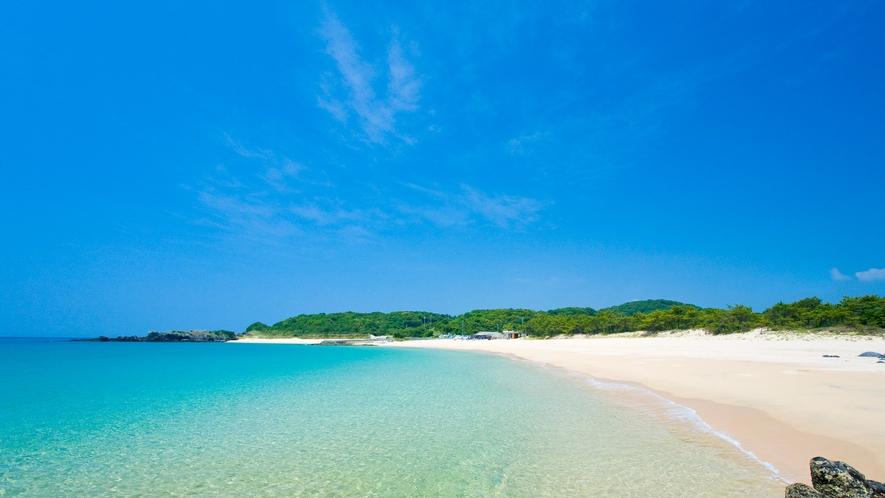 *【錦浜海水浴場】当館から車で約20分。壱岐一番のマリンスポーツのメッカ!壱岐の三大ビーチの一つ!