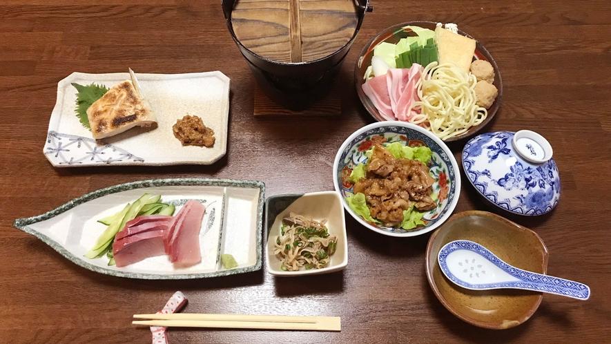 【ビジネス向け夕食】連泊でも飽きない日替わりメニュー(ご飯お替りOK)