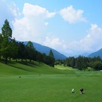 ゴルフ場優待/ご宿泊のお客様は近隣の提携ゴルフ場を優待料金にてご利用可能です。