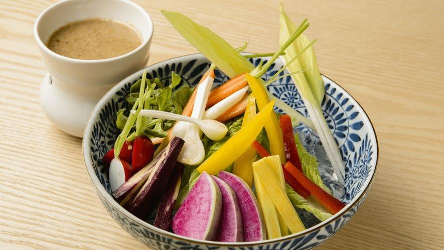 お食事処 実乃里/料理イメージ/農園野菜のバーニャカウダ