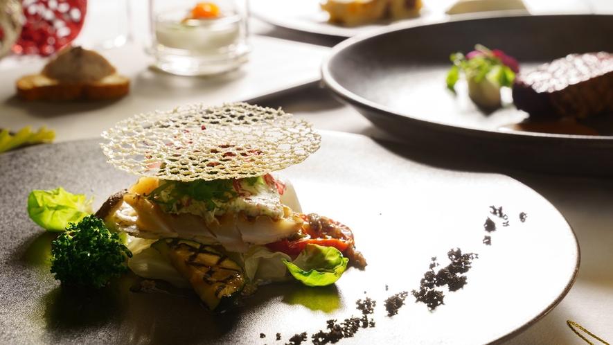 ディナー/イメージ/ミシュラン1つ星シェフが手掛ける、信州の贅を尽くした美食フレンチ。