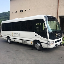 無料シャトルバス/軽井沢駅南口-ホテル間にて運行(所要時間約15分)