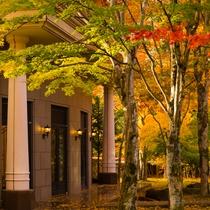 Courtyard - Autumn