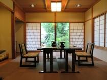 【個室食事処】椅子テーブル席