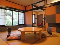 【離れ1棟建て客室】モダンな内装の客室!「りんどう」和洋室
