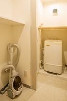 5階廊下に有 共有洗濯機