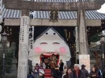 【櫛田神社】車で10分!博多祇園山岳が奉納される神社で、飾り山岳が一年中展示されています。