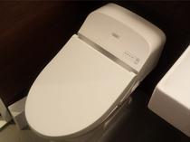 【トイレ】嬉しい全室洗浄機付きトイレ!