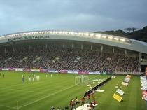 【レベルファイブスタジアム】車で15分!福岡のサッカーチーム、アビスパ福岡の本拠地。通称『レベスタ』