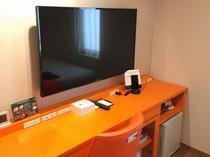 部屋の一部 50インチのTVを設置しております。