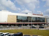 【福岡空港】車で10分!国際線ターミナルからは当施設が世界一近いホテルです。