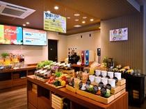 朝食 朝食は7時から10時までの営業となります。当日朝のお申込みも可能です。