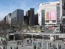 【博多バスターミナル】徒歩で15分!博多駅のすぐ隣。レストラン・映画館・本屋なども楽しめる複合施設。