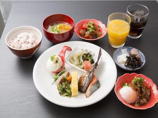 【1日5室限定】線路反対側客室 確約 朝食ビュッフェ付きプラン