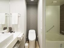 シングルルーム 洗い場付きバスルーム
