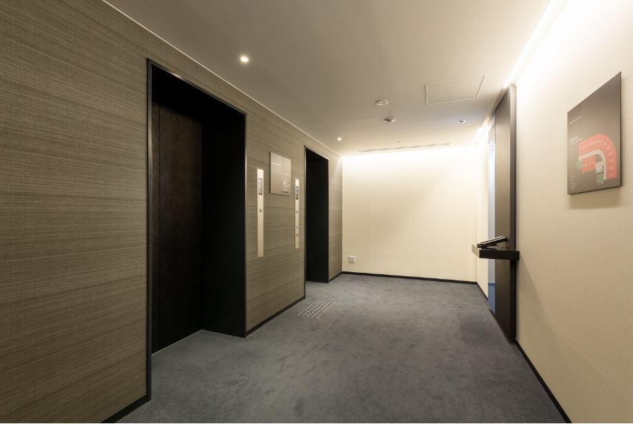 館内エレベーター前(客室フロア)