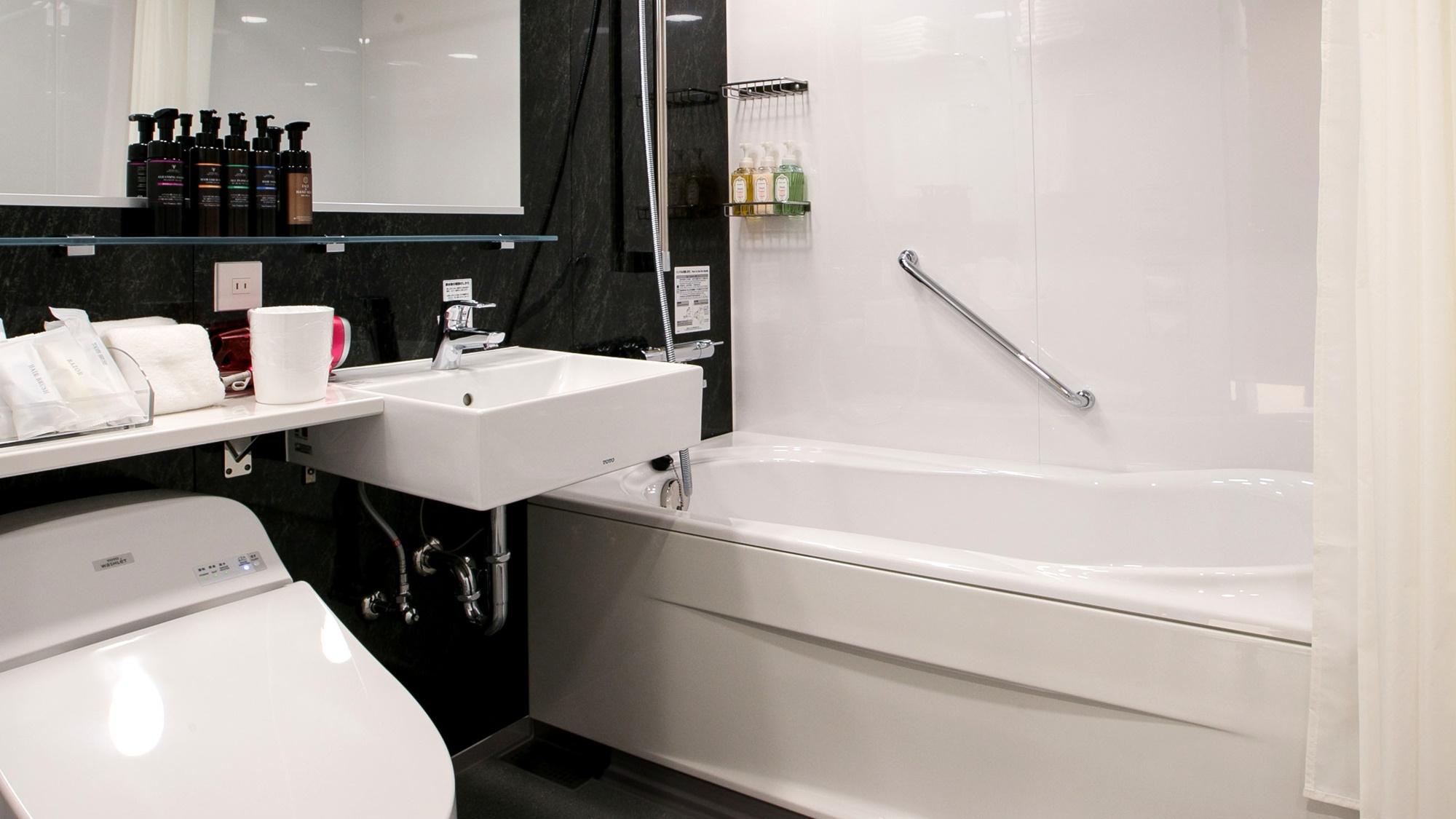 *【ダブル】スタイリッシュな浴室