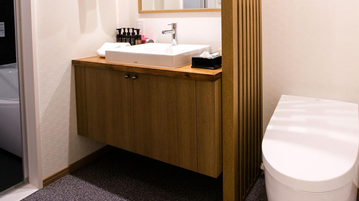 *【ジュニアスイート】浴室とセパレートタイプとなっております