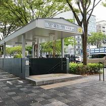 *【烏丸御池駅】2番出口から徒歩7分