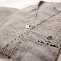 【ルームウェア】オーガニックコットンを使用した当館オリジナルの部屋着