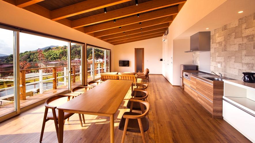 【スイート】<客室>総面積1,060㎡、客室温泉風呂(銀の湯)+プライベートプール