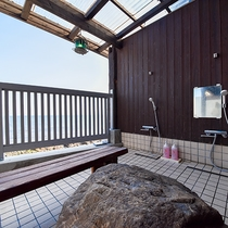 *【露天風呂(女湯)】海が一望できる開放的な露天風呂。