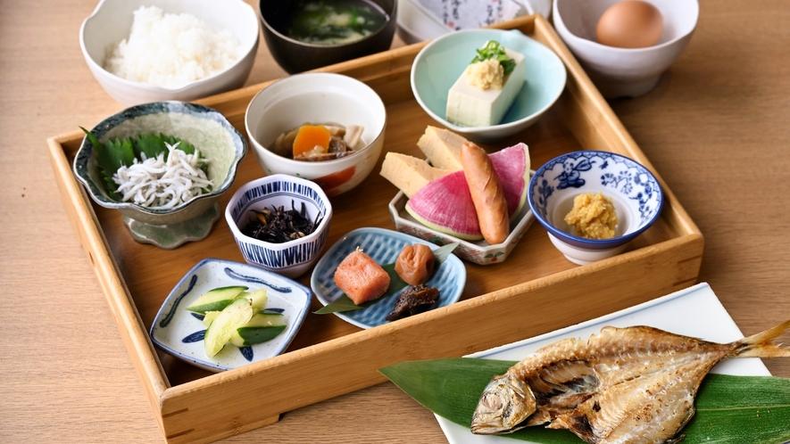 【朝食一例】カラダにやさしい和朝食