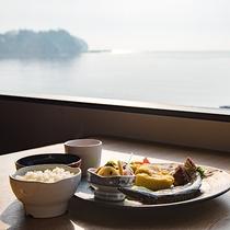 *【朝食一例】お食事は併設のレストラン「韓国苑」でワンプレート朝食を♪
