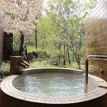 貸切露天風呂『薩摩』&桜