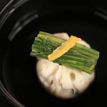 【D+KIRISHIMA】【お椀/夕食一例】出しにこだわった優しく作り上げるお椀