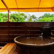【源泉かけ流し】露天風呂付きモダン和室のお風呂