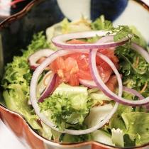 【D+KIRISHIMA】【朝食一例】新鮮なフレッシュサラダをご用意いたします。