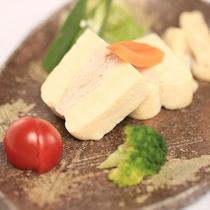 【D+KIRISHIMA】【愛犬夕食/選べる3つのメイン】「高野豆腐の鶏肉の挟み蒸し」