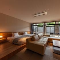 『SANAワイド(参考121客室)』2タイプの異なる客室はどちらも80平米の広々空間1
